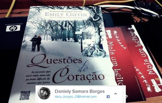 ganhadora 3 - Livro Questões do Coração