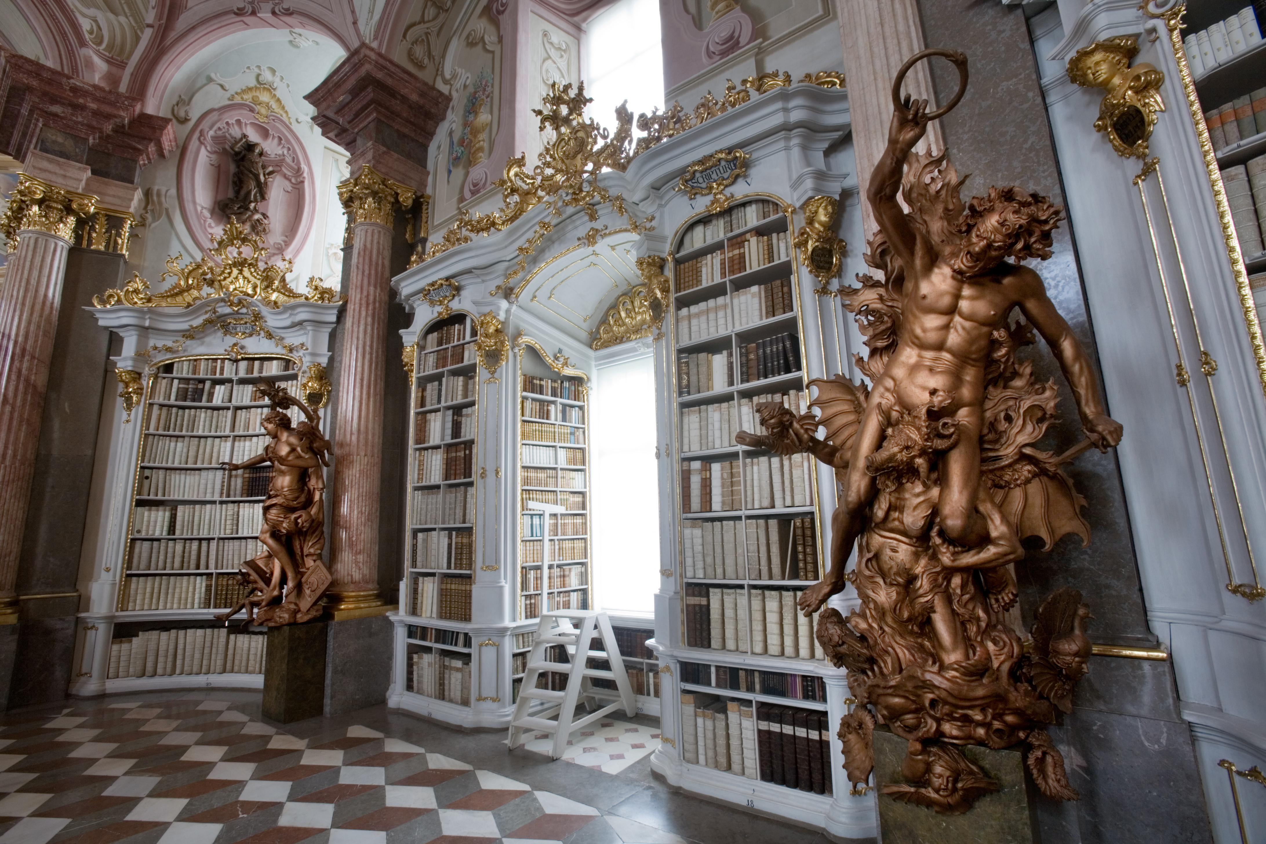 Admont Austria  city pictures gallery : Admont Abbey Library, Austria