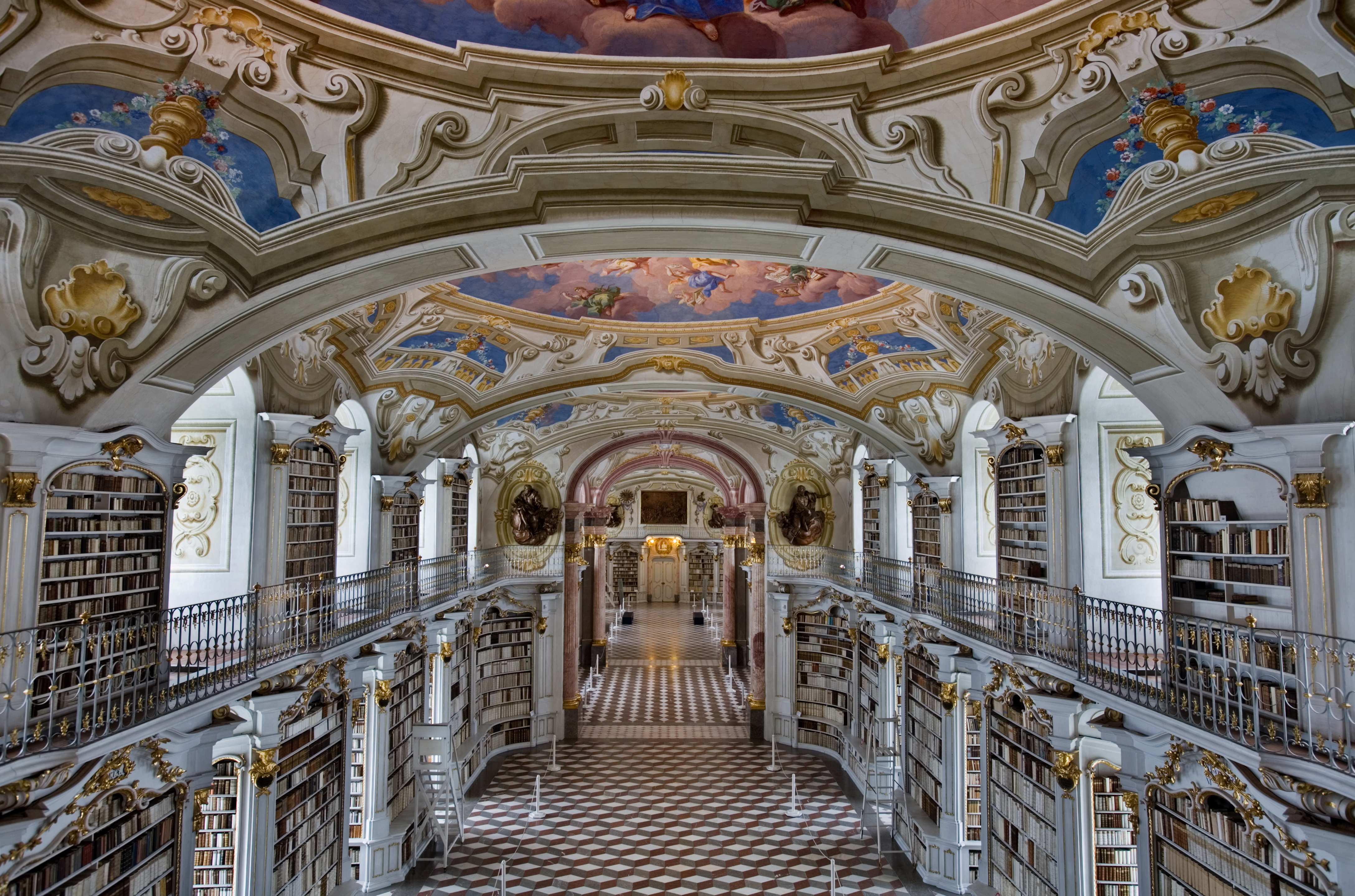 Admont Austria  city images : Admont Abbey Library, Austria