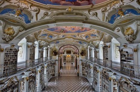 Admont Abbey Library, Austria