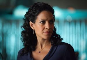 "GOTHAM: Zabryna Guevara as Captain Sarah Essen in the ""Spirit of The Goat"" episode of GOTHAM airing Monday, Oct. 27 (8:00-9:00 PM ET/PT) on FOX. ©2014 Fox Broadcasting Co. Cr: Jessica Miglio/FOX"