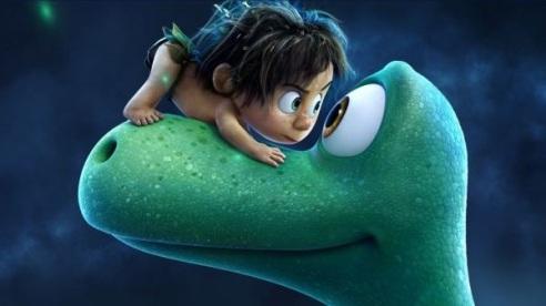 2015. Crédito: Pixar/Divulgação. Férias na telona. Filme O bom dinossauro.