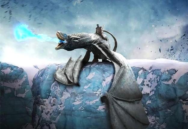 dragao de gelo game of thrones